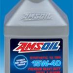 AMSOIL Synthetic Heavy-Duty Diesel & Marine Motor Oil SAE 15W-40 (AME)