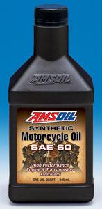 Premium AMSOIL synthetic motor oil